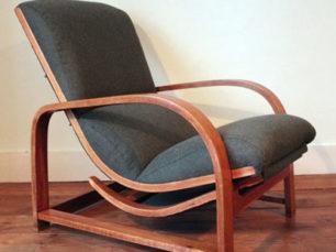 Mid century recliner